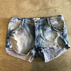 Wildfox Jean Shorts